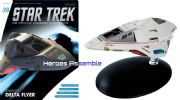 Star Trek Official Starships Collection #038 Delta Flyer Eaglemoss